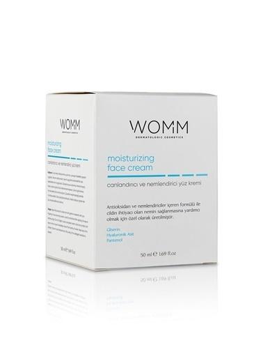 Womm Cosmetic Canlandırıcı ve Nemlendirici Yüz  Bakım Kremi Renksiz
